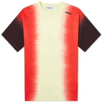 アンブッシュ Ambush メンズ Tシャツ トップス Tie Dye Panel Tee Light Yellow/Multi