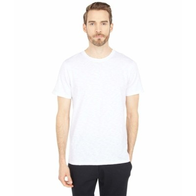 オルタナティヴ シャツ トップス メンズ Fillmore Organic Cotton Slub T-Shirt White