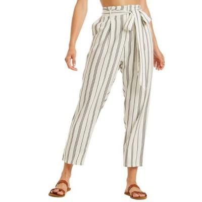 ビラボン カジュアルパンツ ボトムス レディース Sand Stand Paperbag Waist Pants Cool Wip