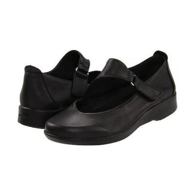 Arcopedico アルコペディコ レディース 女性用 シューズ 靴 フラット Ellery - Black