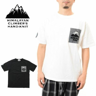 ヒマラヤンクライマーズ ハンドニット Tシャツ ハンド刺繍胸ポケット HIMALAYAN CLIMBERS HAND-KNIT HCK-S6 メンズ