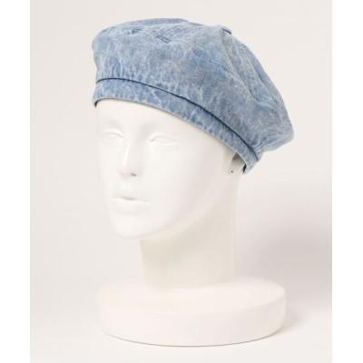 ALAND / 3.3Field Trip/デニムベレー帽 2926185 WOMEN 帽子 > ハンチング/ベレー帽