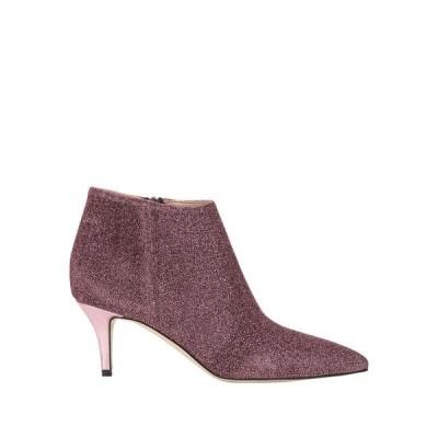 CHIARINI BOLOGNA ショートブーツ  レディースファッション  レディースシューズ  ブーツ  その他ブーツ ピンク