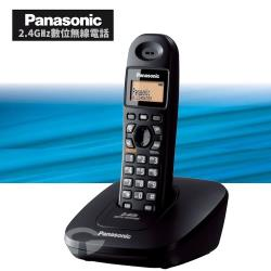 Panasonic 松下國際牌2.4GHz數位無線電話 KX-TG3611 (經典黑)