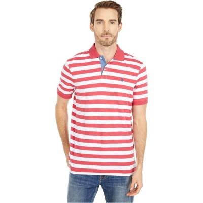 ラルフ ローレン Polo Ralph Lauren メンズ ポロシャツ トップス Classic Fit Jersey Polo Nantucket Red/White