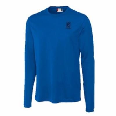 Cutter & Buck カッター アンド バック スポーツ用品  Cutter & Buck TPC Louisiana Royal Ice Long Sleeve T-Shirt