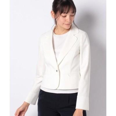 MISS J / ミス ジェイ グログランポンチ テーラードジャケット