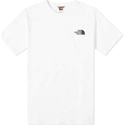 ザ ノースフェイス The North Face メンズ Tシャツ トップス Simple Dome Tee White