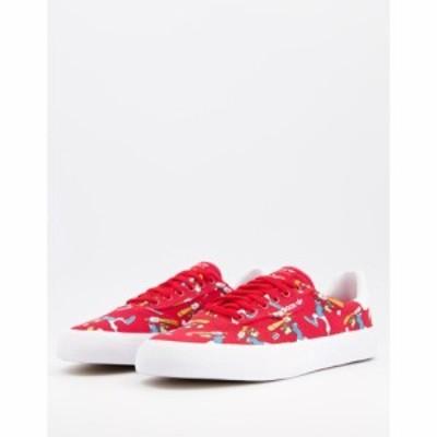 アディダス adidas Originals メンズ スニーカー シューズ・靴 3MC x Disney sport trainers in red レッド