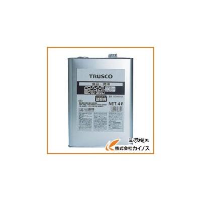 TRUSCO αホワイトオイル 4L ECO-WO-C4