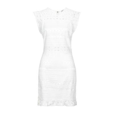 シルビアンヒーチ SILVIAN HEACH ミニワンピース&ドレス ホワイト XXS ポリエステル 100% ミニワンピース&ドレス