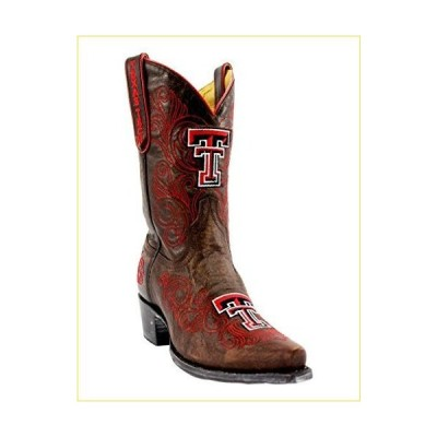 Gameday Boots NCAA Ladies 10 inch University Boot Texas Tech Red Raiders, 11 B (M) US, BRASS