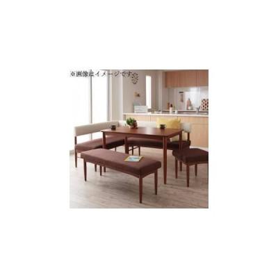 ダイニングテーブルセット 7人用 コーナーソファー L字 l型 ベンチ 椅子 5点 (机+ソファx1+肘付x1+長椅子1+スツール1) 幅120 デザイナーズ カバー 低め 大きい