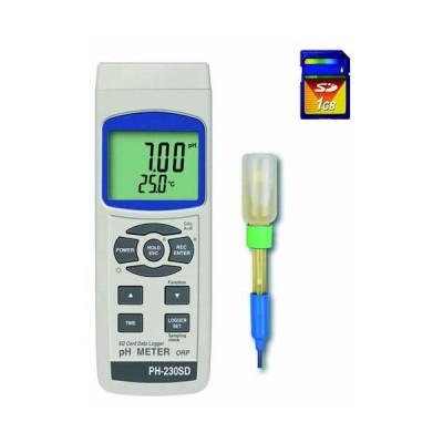 マザーツール PH-230SD SDカードデータロガデジタルPHメーター
