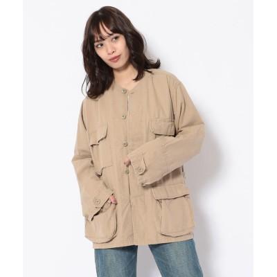 【アンカットバウンド】 ROTHCO(ロスコ) BDUシャツジャケット レディース カーキ S UNCUT BOUND