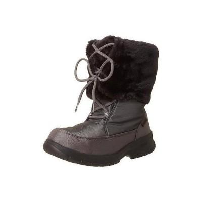 カミク ブーツ シューズ 靴 Kamik 0369 レディース Seattle グレー Waterproof Faux Fur Lined スノー ブーツ 8 BHFO