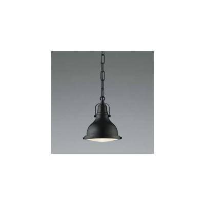 コイズミ照明 LEDランプ交換可能型ペンダントライト STEAMER 4.9W 白熱球60W相当 口金E26 電球色 黒色塗装 AP45538L