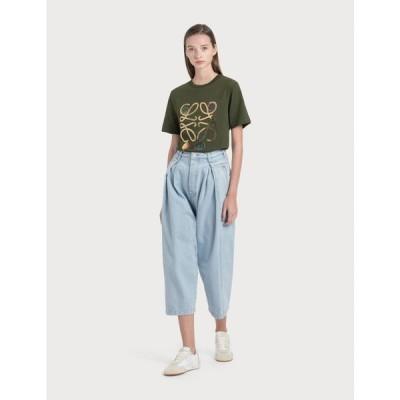 ロエベ Loewe レディース ジーンズ・デニム ボトムス・パンツ cropped oversize jeans Light Blue