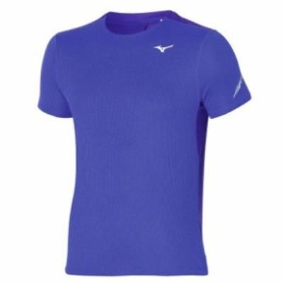 ドライエアロフローTシャツ (メンズ) MIZUNO ミズノ ランニング ウエア ランニングシャツ (J2MA1521)