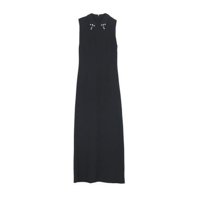 ジジル JIJIL ロングワンピース&ドレス スチールグレー 44 ポリエステル 93% / ポリウレタン 7% ロングワンピース&ドレス