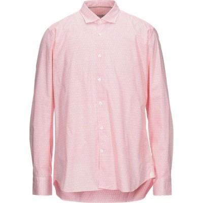 ティントリア マッティ TINTORIA MATTEI 954 メンズ シャツ トップス Patterned Shirt Coral
