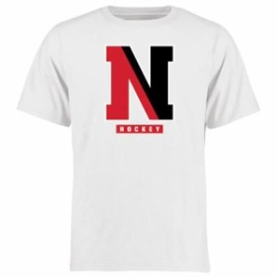 Fanatics Branded ファナティクス ブランド スポーツ用品  Northeastern Huskies White Hockey East T-Shirt