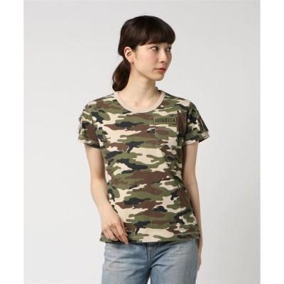 tシャツ Tシャツ avirex/アヴィレックス/SS CAMO FATIGUE TEE/半袖迷彩カモフラージュファティーグTシャツ