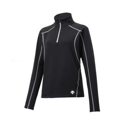 セール 18-19 デサント (DWWMJB65-BWT) レディーススキーアンダーシャツ UNDER SHIRT ブラック/ホワイト (K)