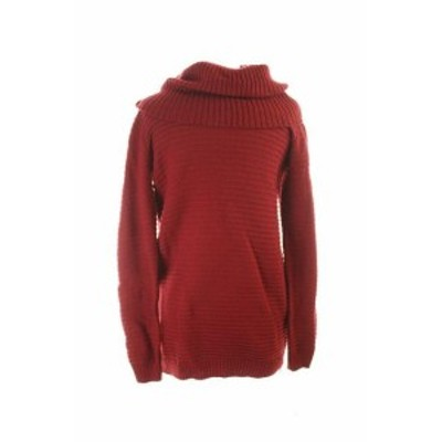 Red  ファッション トップス Inc International Concepts Red Ottoman Ribbed Zipper Sweater XL
