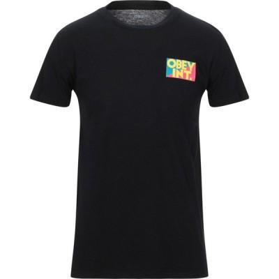 オベイ OBEY メンズ Tシャツ トップス t-shirt Black