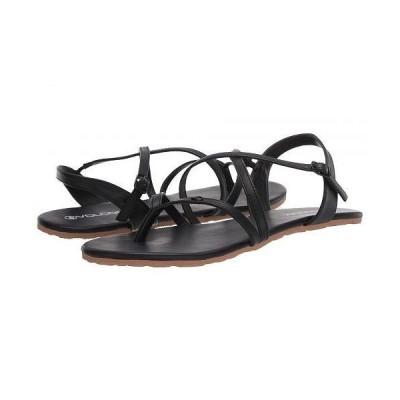 Volcom ヴォルコム レディース 女性用 シューズ 靴 サンダル Strapped In Sandal - Black Out