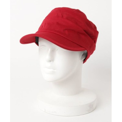 帽子 キャップ スウェット2段ワークCAP