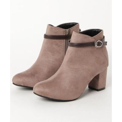 ブーツ minia /  ベルトショートブーツ
