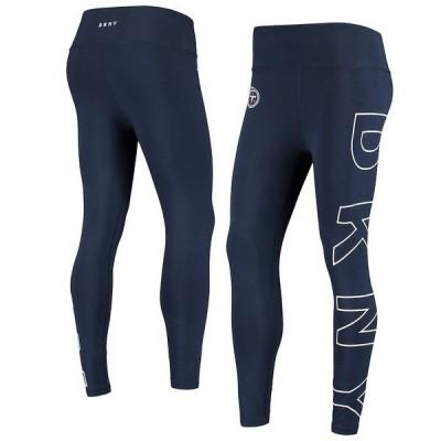 ダナ キャラン ニューヨーク レディース カジュアルパンツ ボトムス Tennessee Titans DKNY Sport Women's Eva Leggings Navy