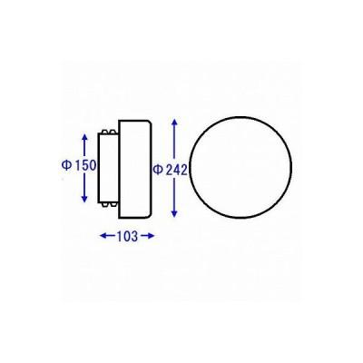 TOTO 浴室部品・補修品 照明器具 扁平丸型照明グローブ【AFKK026】[新品]