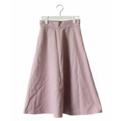 【中古】バンヤードストーム BARNYARDSTORM スカート フレア ロング 薄紫 0 レディース