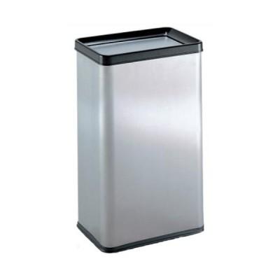 テラモト ゴミ箱 ステン エルボックス(ステンフタ) 34.8L 中缶なし DS2131300