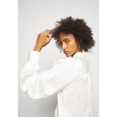 デザイナーズリミックス シャツ レディース トップス EMME SLEEVE - Button-down blouse - cream