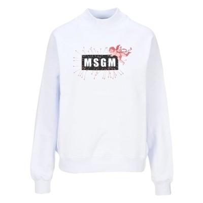 エムエスジイエム レディース ニット&セーター アウター MSGM Cupid Logo Sweatshirt -