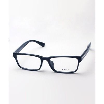 メガネ 【PRADA/プラダ】スクエア メガネ PR01SV 1AB1O1