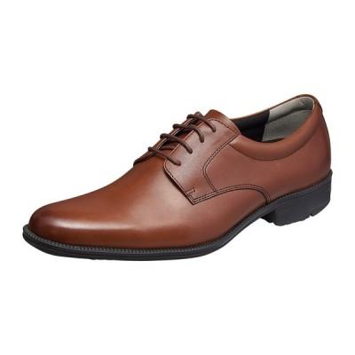 ムーンスター メンズ 紳士 靴 ビジネスシューズ バランスワークス 本革 SPH4600 ブラウン