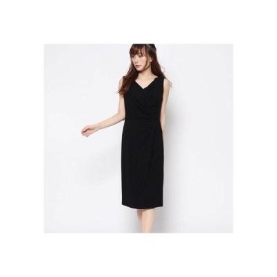 ジュネビビアン Genet Vivien カシュクール調ドレス (ブラック)