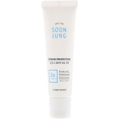 Soon Jung(スンジョン)、2Xバリアインテンシブクリーム、60ml(2.02液量オンス)