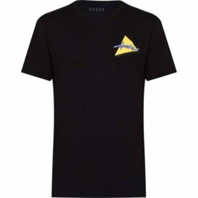 ゲス Guess メンズ Tシャツ トップス So Clean T Shirt Jet Black JBLK