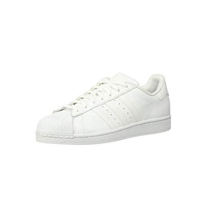 adidas womens Superstar Sneaker, White/Black/White, 7 US