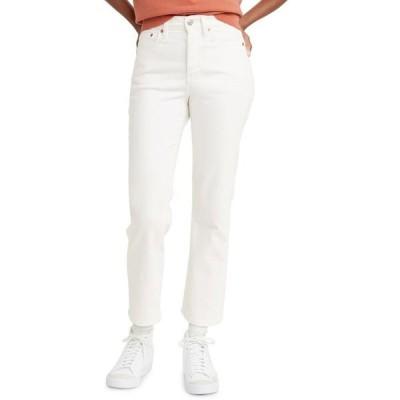リーバイス レディース デニムパンツ ボトムス Women's Wedgie Straight-Leg Cropped Jeans