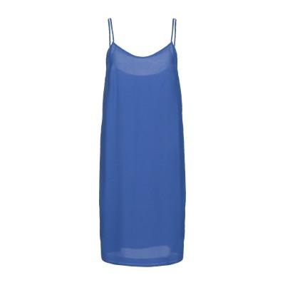 MARIELLA ROSATI ミニワンピース&ドレス ブルー 46 ポリエステル 80% / ナイロン 20% ミニワンピース&ドレス