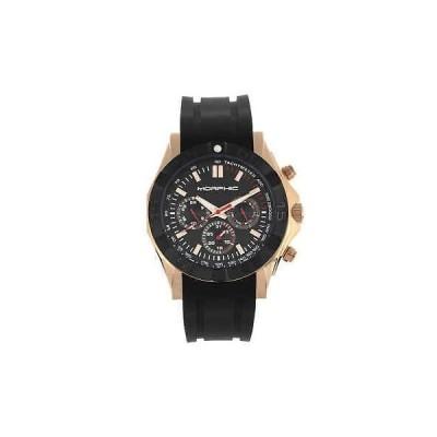 腕時計 モルフィック メンズ Morphic M75 Series Quartz Black Dial Men's Watch 7505