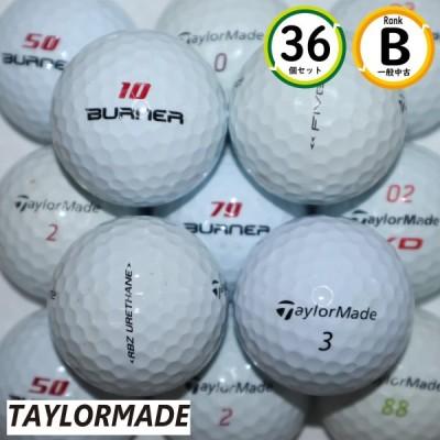 テーラーメイド シリーズ混合 3ダース(36個)セット Bランク ホワイト TAYLORMADE 中古 ロストボール