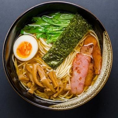 福岡県産 ラー麦使用 たなばたの里ラーメン(しょうゆ)8食入